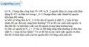 Bài 11.6 trang 30 SBT Vật lí 11