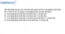 Bài III.3 trang 45 SBT Vật lí 11