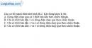 Bài III.6 trang 46 SBT Vật lí 11