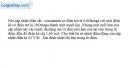 Bài III.9 trang 46 SBT Vật lí 11