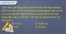 Bài 15.6, 15.7, 15.8, 15.9, 15.10 trang 37 SBT Vật lí 10