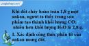 Bài 25.15 trang 39 SBT hóa học 11