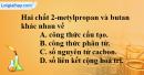 Bài 25.4, 25.5, 25.6, 25.7 trang 38 SBT hóa học 11