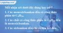 Bài 26.1, 26.2, 26.3 trang 40 SBT hóa học 11