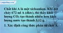 Bài 26.7 trang 41 SBT hóa học 11