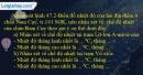 Câu 3 trang 104 SBT địa 7