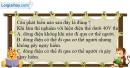 Bài 29.1 trang 78 SBT Vật lí 7