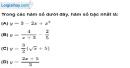 Bài 2.1 phần bài tập bổ sung trang 63 SBT toán 9 tập 1