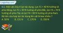 Bài II.1, II.2, II.3, II.4 trang 37,38 SBT Vật lí 10
