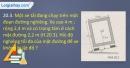 Bài 20.3, 20.4 trang 47 SBT Vật lí 10
