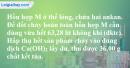 Bài 27.6 trang 42 SBT hóa học 11
