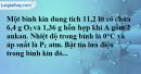 Bài 27.7* trang 43 SBT hóa học 11