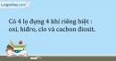 Bài 28.1 Trang 34 SBT Hóa học 9