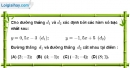 Bài 3.2 phần bài tập bổ sung trang 65 SBT toán 9 tập 1