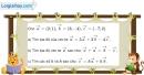 Bài 1.63 trang 44 SBT hình học 10