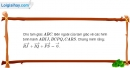 Bài 1.66 trang 45 SBT hình học 10