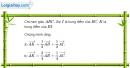 Bài 1.71 trang 46 SBT hình học 10