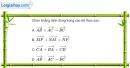 Bài 1.76 trang 46 SBT hình học 10