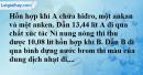 Bài 29.13 trang 46 SBT hóa học 11