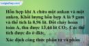 Bài 29.8 trang 45 SBT hóa học 11