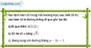 Bài 22 trang 66 SBT toán 9 tập 1