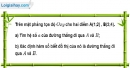 Bài 23 trang 66 SBT toán 9 tập 1