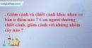 Bài 4 trang 46 SBT Sinh học 6