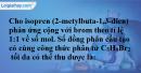 Bài 30.1, 30.2, 30.3, 30.4 trang 46 SBT hóa học 11