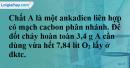 Bài 30.6 trang 47 SBT hóa học 11