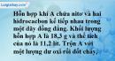 Bài 31.7 trang 49 SBT hóa học 11