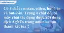 Bài 32.1, 32.2 trang 49 SBT hóa học 11