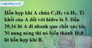 Bài 32.7 trang 50 SBT hóa học 11