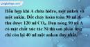 Bài 32.8 trang 50 SBT hóa học 11