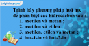 Bài 33.8 trang 52 SBT hóa học 11