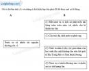 Câu 1 trang 63 SBT địa 8