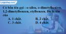 Bài 36.1, 36.2, 36.3, 36.4 trang 55 SBT hóa học 11