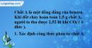 Bài 36.7 trang 56 SBT hóa học 11