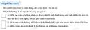 Câu 1 trang 89 SBT địa 8