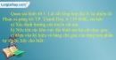 Câu 1 trang 98 SBT địa 8