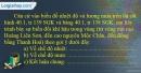 Câu 2 trang 99 SBT địa 8