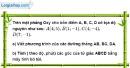 Bài 5.4 phần bài tập bổ sung trang 69 SBT toán 9 tập 1