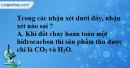 Bài 38.1, 38.2, 38.3, 38.4 trang 59 SBT hóa học 11