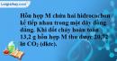 Bài 38.5 trang 60 SBT hóa học 11