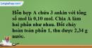 Bài 38.7 trang 60 SBT hóa học 11