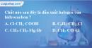 Bài 39.1, 39.2, 39.3 trang 61 SBT hóa học 11