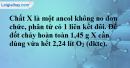 Bài 40.11 trang 64 SBT hóa học 11