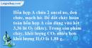Bài 40.13 trang 64 SBT hóa học 11