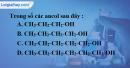 Bài 40.4, 40.5, 40.6, 40.7 trang 62 SBT hóa học 11