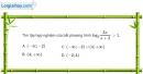 Bài 2.105 trang 137 SBT giải tích 12
