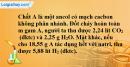 Bài 42.10 trang 68 SBT hóa học 11